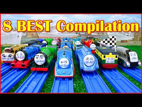 THOMAS AND FRIENDS THE GREAT RACE TRACKMASTER COMPILATION | THOMAS & FRIENDS TOY TRAINS