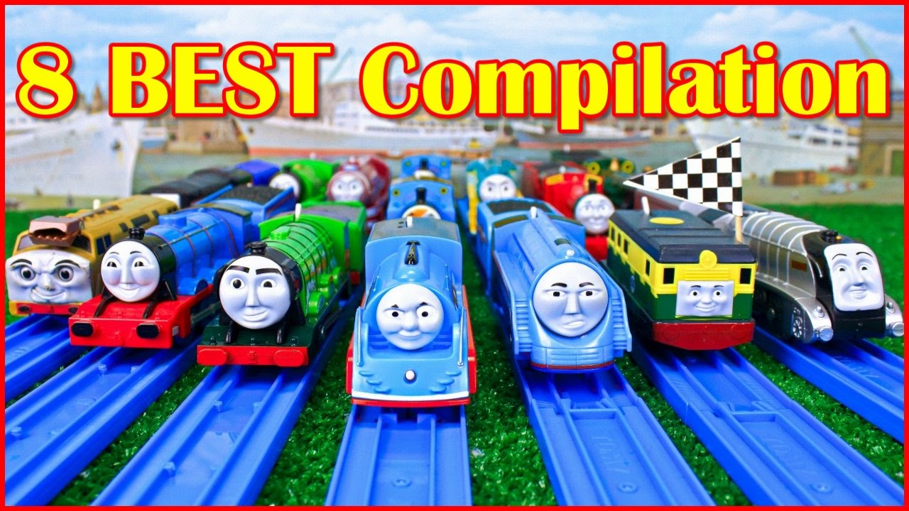thomas and friends the great race trackmaster compilation thomas