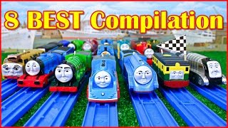Repeat youtube video THOMAS AND FRIENDS THE GREAT RACE TRACKMASTER COMPILATION | THOMAS & FRIENDS TOY TRAINS