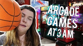 DO NOT PLAY ARCADE GAMES AT 3AM!!