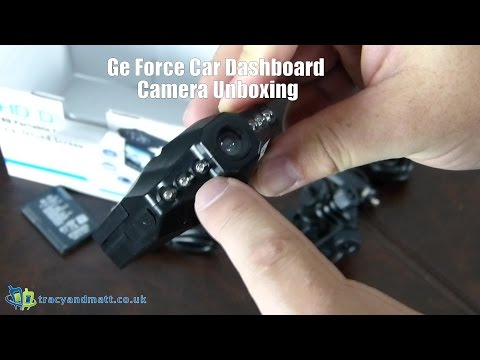 Ge Force Car Dashboard Camera Unboxing