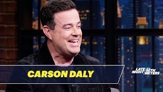 Carson Daly Was Jimmy Kimmel's Intern