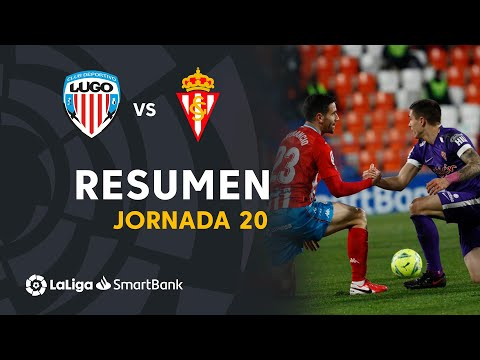 Lugo Gijon Goals And Highlights