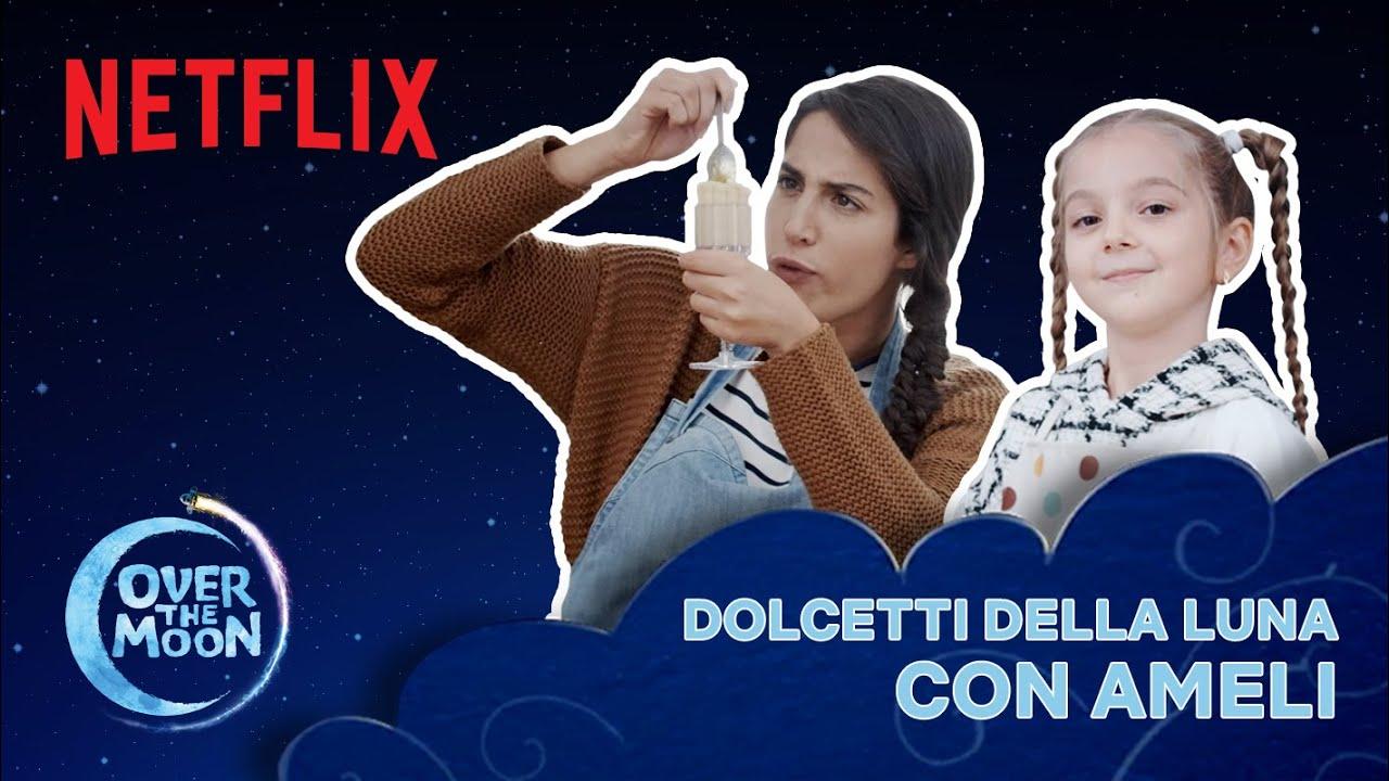 @Ameli TVIT prepara dei dolcetti della luna SPAZIALI come in Over The Moon 🌙  Netflix Futures