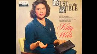Kitty Wells- Dust on the Bible (Lyrics in description)- Kitty Wells Greatest Hits