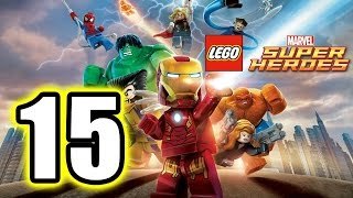 LEGO MARVEL Super Heroes gameplay part 15/final