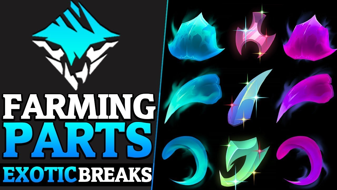 Exotic Break Parts - Part Break Builds - Elemental, Neutral and