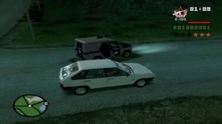 Веселимся  в GTA San - Andreas Криминальная Россия #1