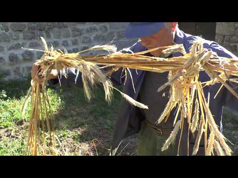 Collectage occitan : La meisson: Liar la palha - Lier la paille (Riutòrt de Randon-48)