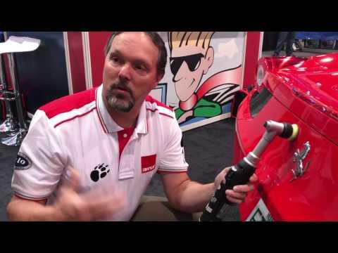 SEMA 2016 Video: RUPES BigFoot Nano iBrid Long Neck Polisher
