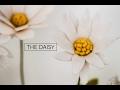 Felt Flower Tutorial DIY Daisy simple easy A Flower Making DIY How to Video