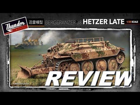Thunder Model 1/35 BERGEPANZER 38 Hetzer Late Review