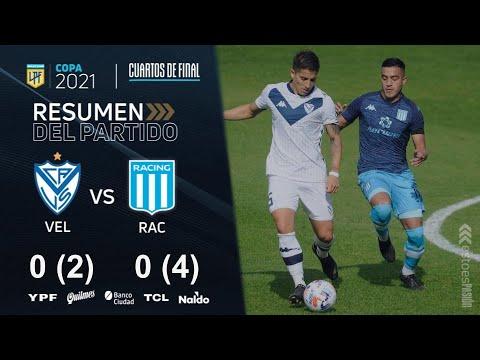 Copa de la Liga | Cuartos de Final | resumen de Vélez - Racing