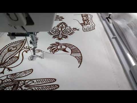 Lauras Studio Mehndi Henna Machine Embroidery Designs Youtube