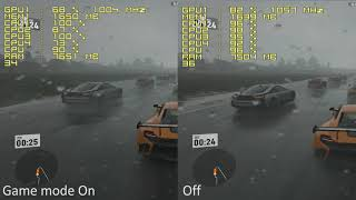 Windows Game Mode Quick Test A12-9800 Forza 7