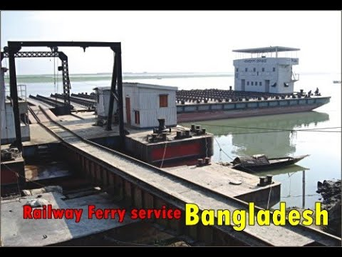 Railway Ferry service in BD !