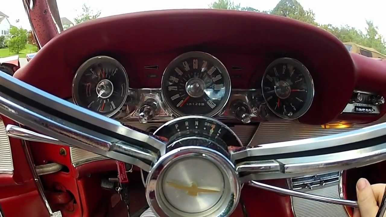 1963 ford thunderbird startup and quick tour youtube