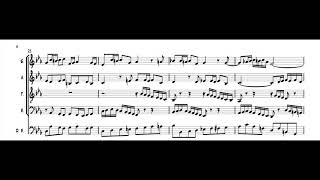 Bach/Swingle Singers - Fugue in C minor (transcription)