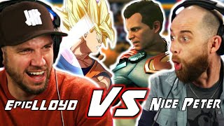 Epic Rap Battle Tries Extreme Fighting Game Challenge