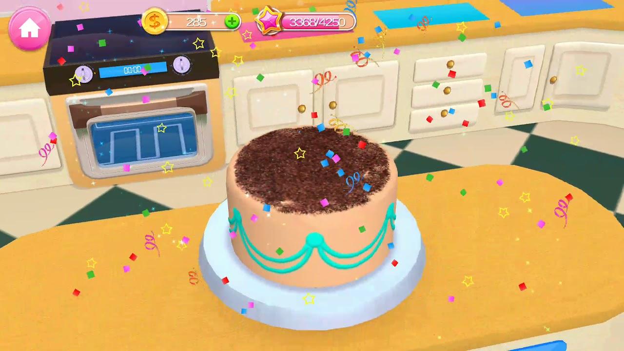 Berbie Masak Masakan Kue Ulang Tahun Barbie Masakmasakjualan Kuesusun Cartoonforkids Youtube