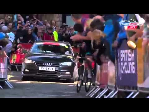 National Championships Great Britain 2015 HD - Road Race - FINAL KILOMETERS