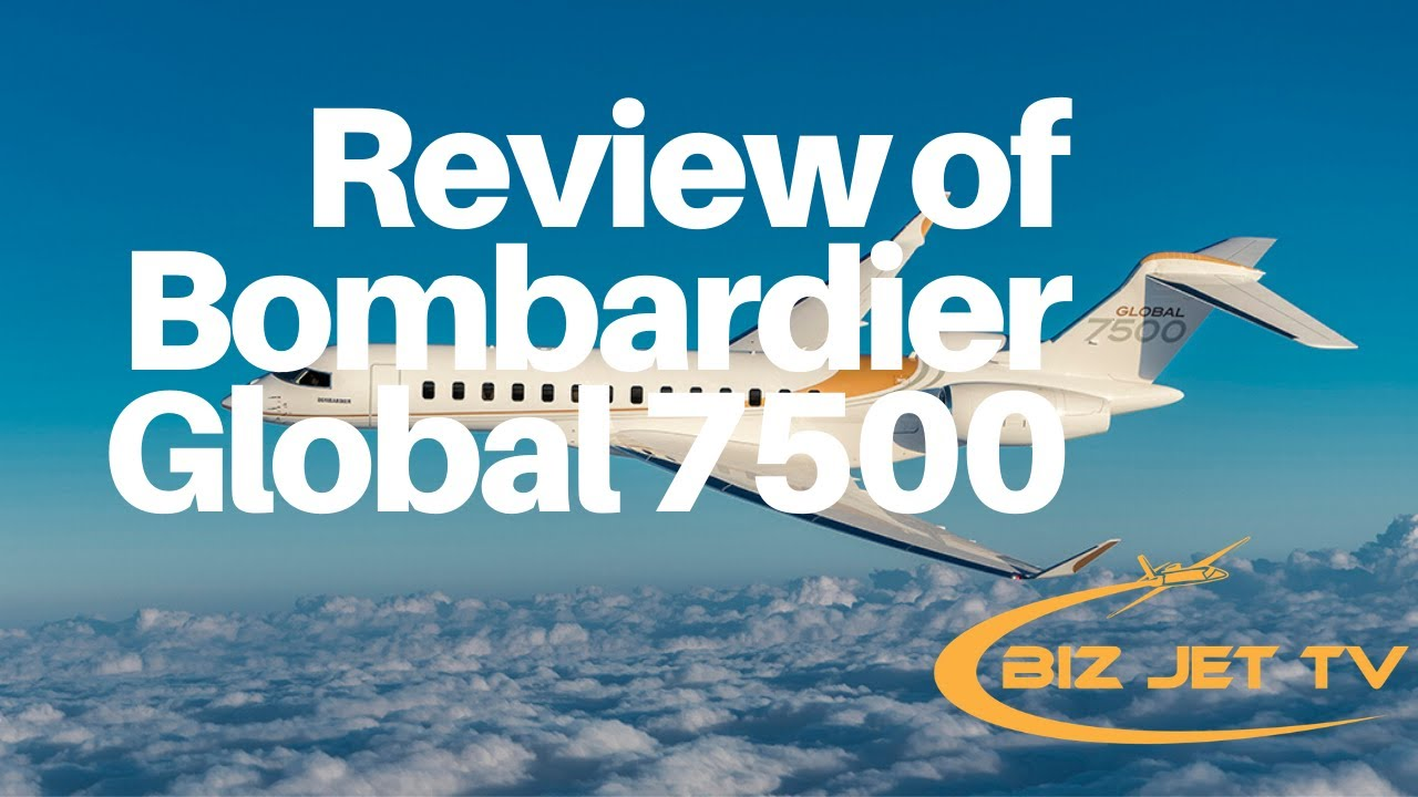 Bombardier Global 7500 with Bunk Beds for Pilots