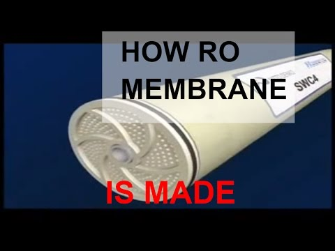RO Membrane How It Is Made