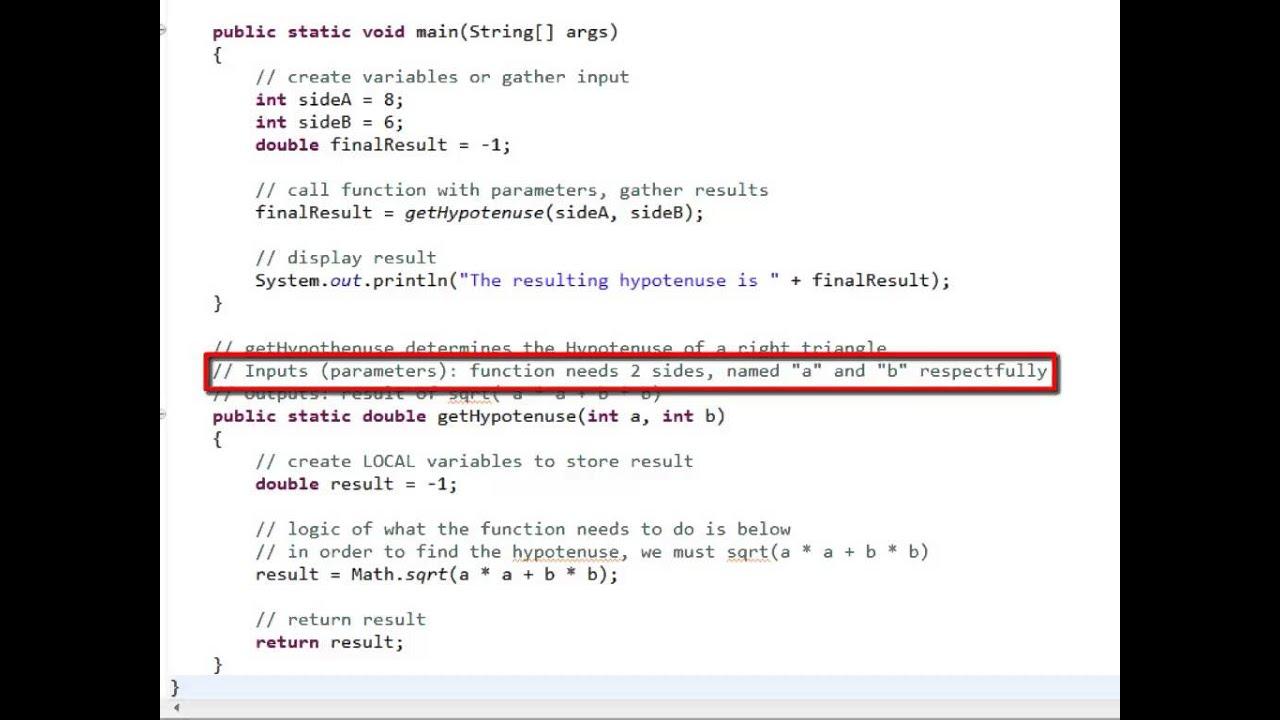 En parameter eller et parameter