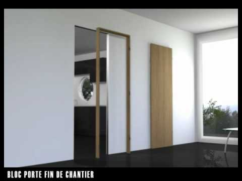 fr 2011 02 02 bloc porte fin chantier youtube. Black Bedroom Furniture Sets. Home Design Ideas