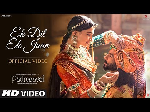 Ek Dil Ek Jaan Song Lyrics Padmavati