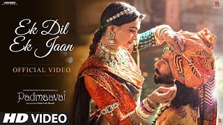 Ek Dil Hai... Ek Jaan Hai, Dono Tujhpe Kurbaan Hai, song of Padmavati has been released