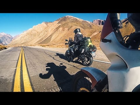 CHILE to ARGENTINA RIDE (Andes mountains magic)