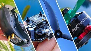 Eachine EV200D, 6S 20x20 stack, New Props, Cheap Motor, more...