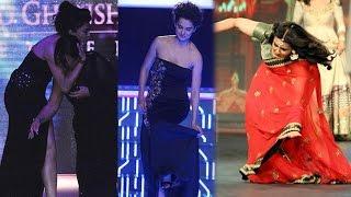 Kangana Ranaut, Sushmita Sen | Bollywood Stars & Their Embarrassing Falls on Ramps | PAGE3
