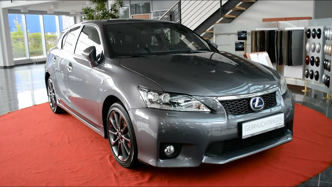 2014 new lexus ct 200h f sport hybrid drive automatik youtube. Black Bedroom Furniture Sets. Home Design Ideas