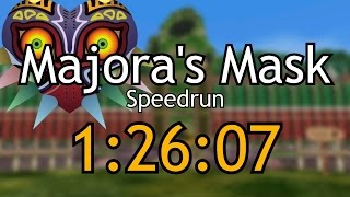 The Legend of Zelda: Majora's Mask Speedrun in 1:26:07 by EnNopp112
