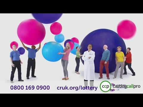 Cancer Research UK Weekly Lottery Advert Feat Arron Wedall VO