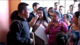 PADRES DE FAMILIA DE SAN RAFAEL PIE DE LA CUESTA, EXIGEN MAESTROS EN LA DIRECCIÓN DEPARTAMENTAL