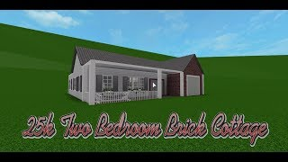 25k Two Bedroom Brick Cottage | Build Battle With xXGamingFallXx | Roblox/Bloxburg