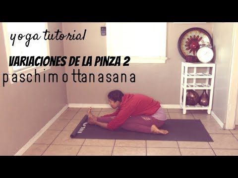 variantes de paschimottanasana 2  yoga tutorial  youtube