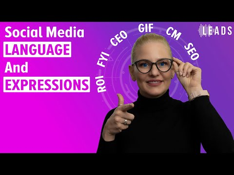 Social media language and expressions - how to communicate online - Free LEADS Tutorials