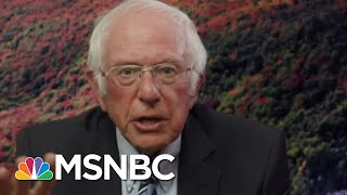 Sanders: Take Trump Threat To U.S. Democracy Seriously | Rachel Maddow | MSNBC