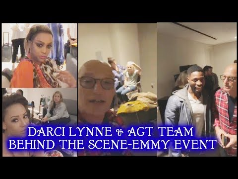 Darci Lynne and America's Got Talent Team Emmy 2018 Event Live Behind the Scene