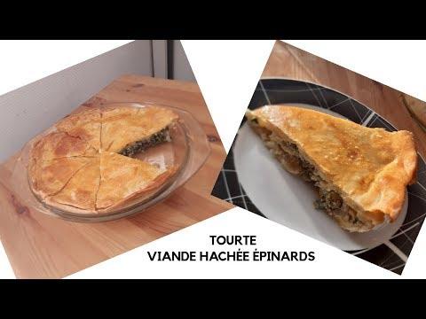 💕-recette-tourte-viande-hachée-épinards