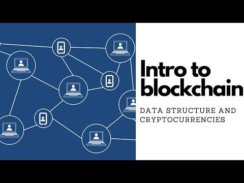Intro to blockchain – Pt 1 Cryptocurrencies