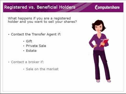 Registered Vs Beneficial Holders Youtube