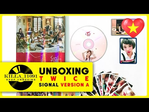 Thumbnail: [Unboxing] TWICE 'Signal' Version A (4th Mini Album)
