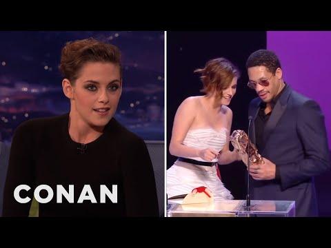Kristen Stewart's French Oscar Freakout  - CONAN on TBS