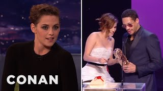 Kristen Stewart's French Oscar Freakout  - CONAN on TBS