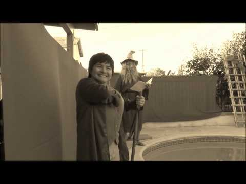 the hobbit contest video by g sparks and c tran music silent film